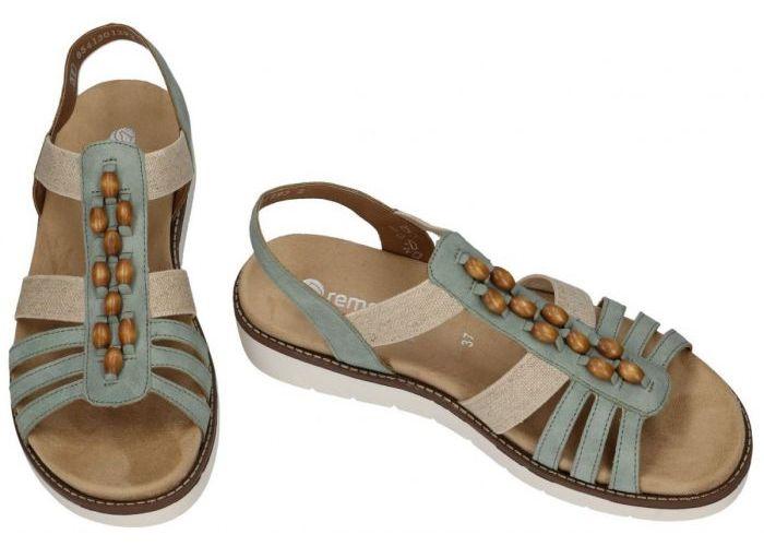 Remonte D2065-52 sandalen groen