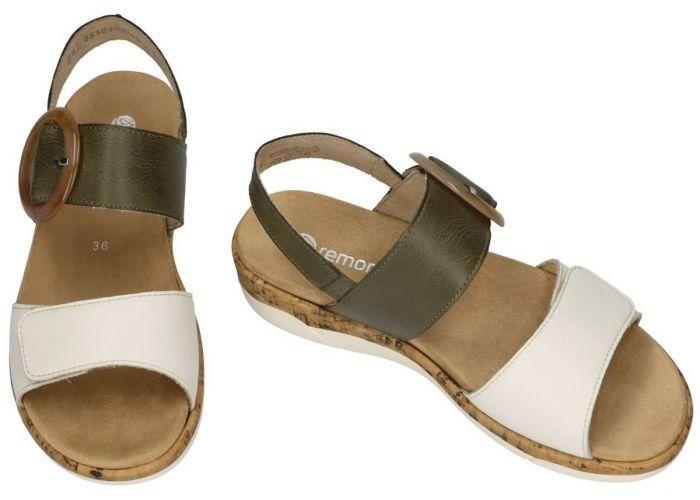 Remonte R6853-54 sandalen groen olijf