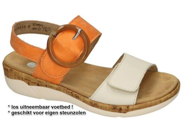 Damesschoenen Remonte SANDALEN R6853-38 Oranje