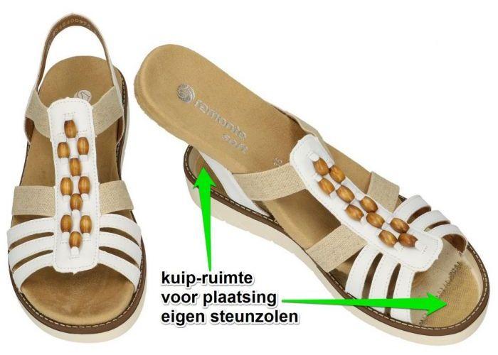 Remonte D2065-80  sandalen wit