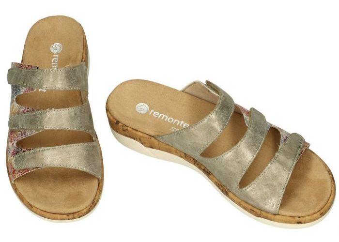 Remonte R6851-90 slippers & muiltjes multicolor