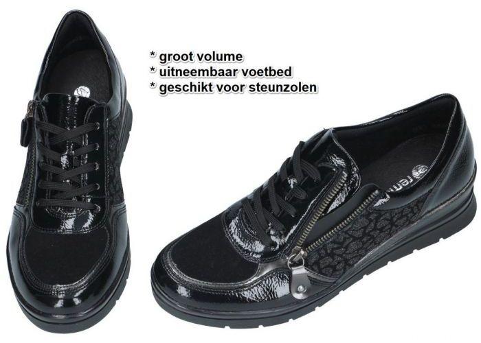 Remonte R0701-02 sneakers  zwart