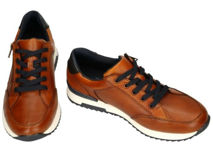 Rieker 16128-24  Bogota/Clermont casual schoenen cognac/caramel
