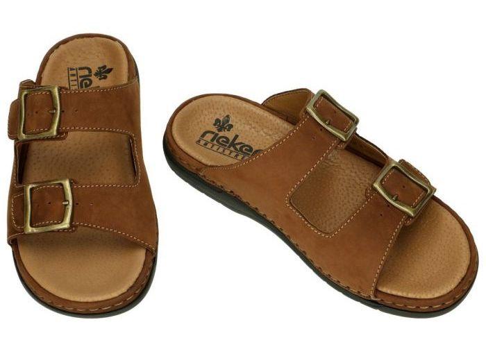 Rieker 25591-25 pantoffels & slippers bruin