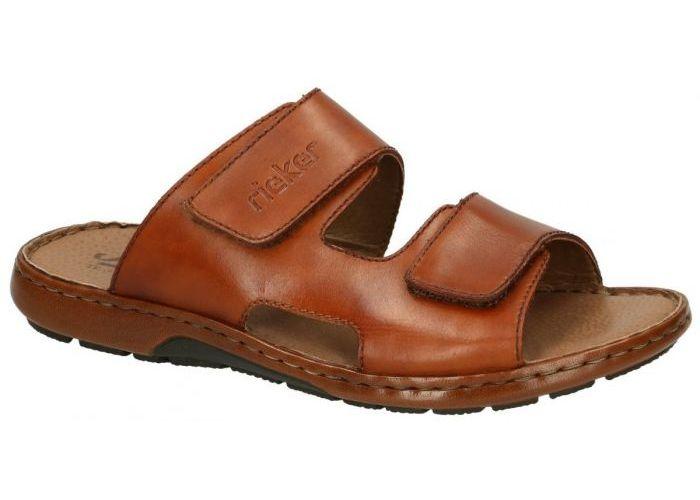Rieker 28942-24 pantoffels & slippers cognac/caramel