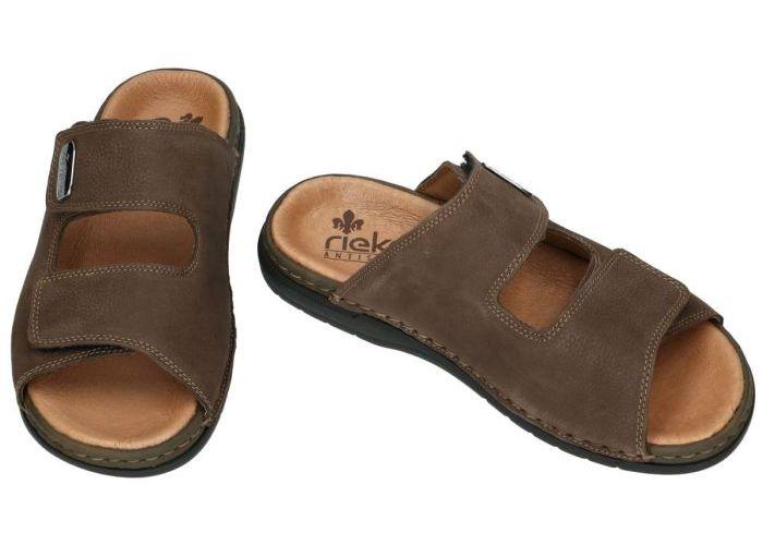 Rieker 25590-25 pantoffels & slippers bruin donker
