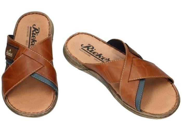 Rieker 22099-25 pantoffels & slippers cognac/caramel