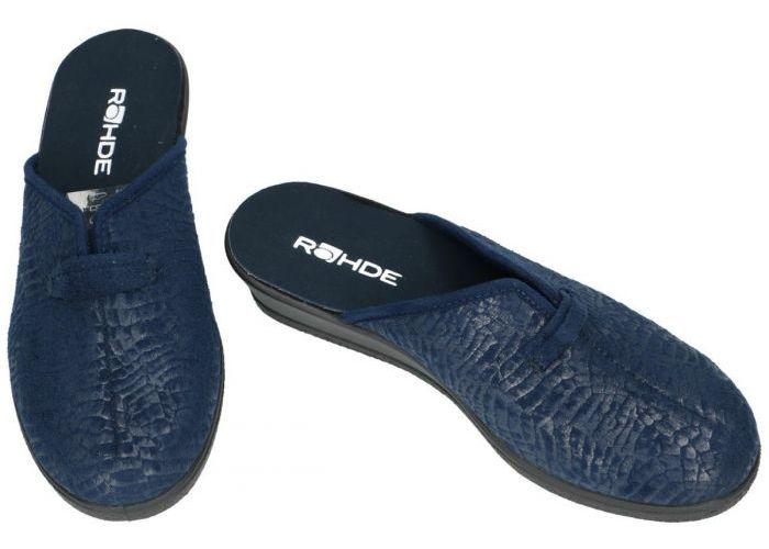 Rohde 2524-56 SALO pantoffels blauw donker