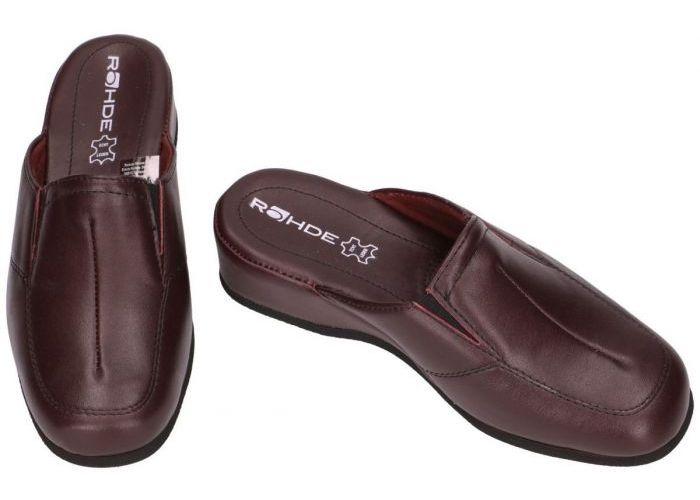 Rohde 6142 MANDAL pantoffels bordeaux