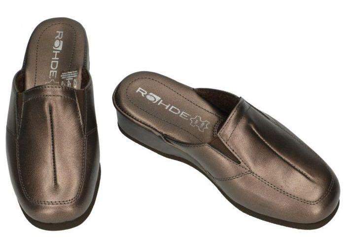 Rohde 6142 MANDAL pantoffels brons