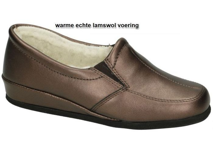 Damesschoenen Rohde PANTOFFELS 6307 ODDA Brons