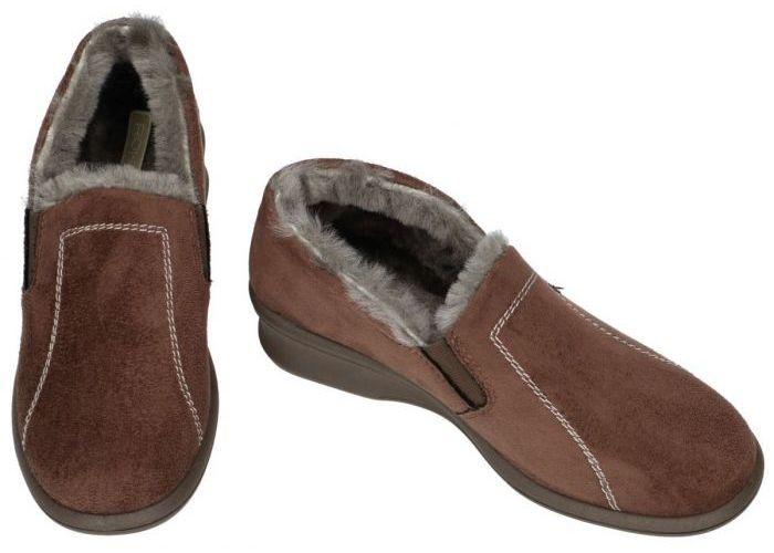 Rohde 2516-71 FARUN pantoffels bruin donker