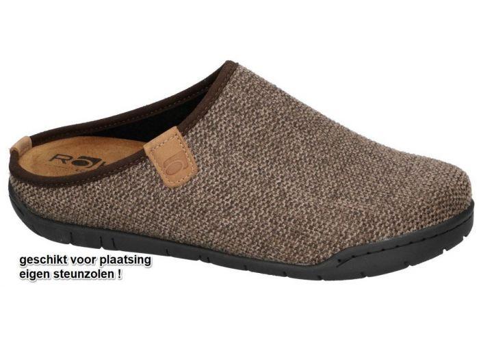 Rohde 6652-77 MANTUA pantoffels & slippers bruin