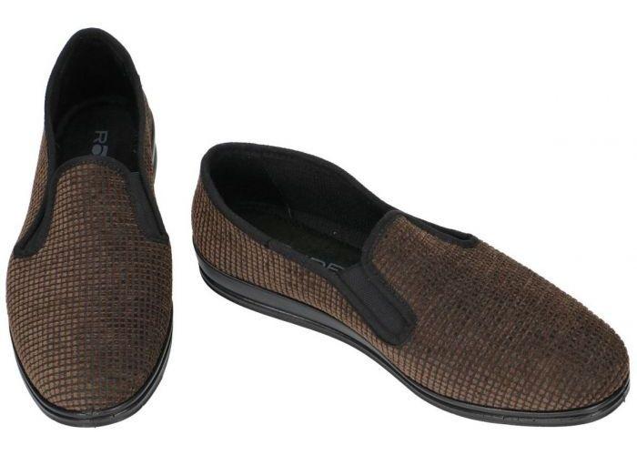 Rohde 2608  LILLESTROM pantoffels & slippers bruin donker