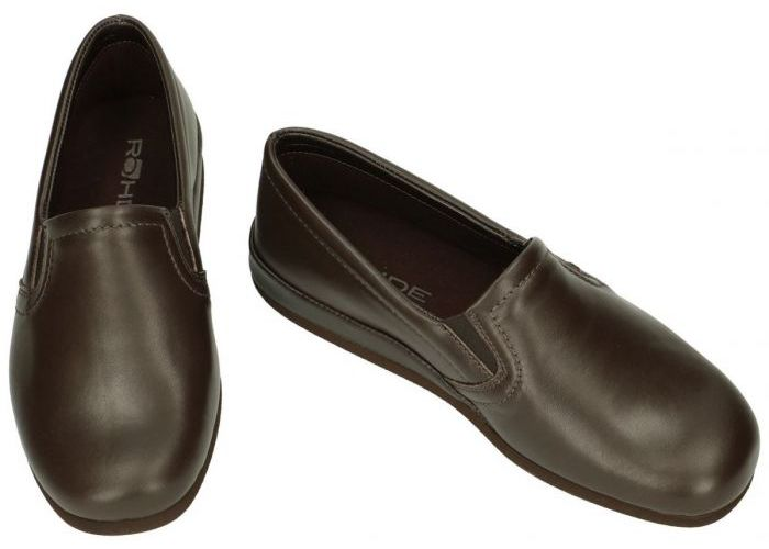 Rohde 6402 VIBORG pantoffels & slippers bruin donker