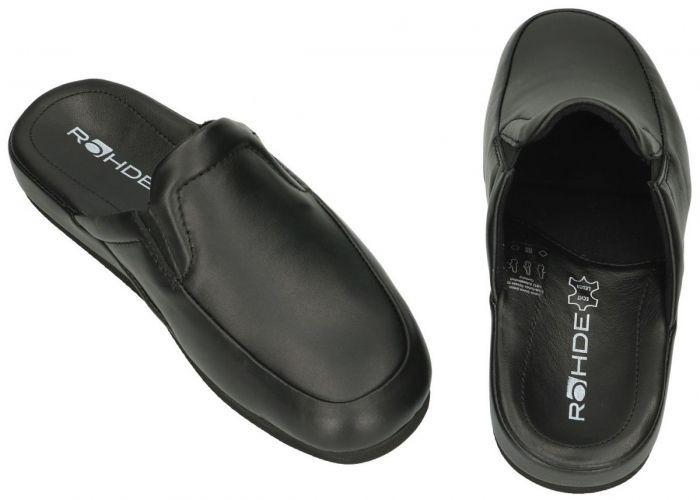 Rohde 6607 VARBERG pantoffels & slippers zwart