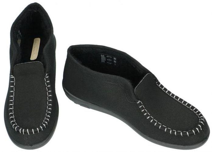 Rohde 2236 BALLERUP pantoffels zwart