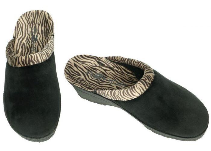 Rohde 2465 NEUSTADT-50 pantoffels zwart