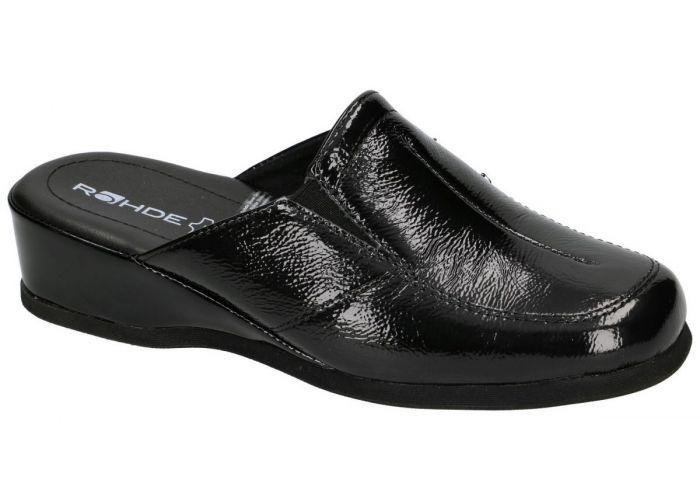 Rohde 6142 MANDAL pantoffels zwart
