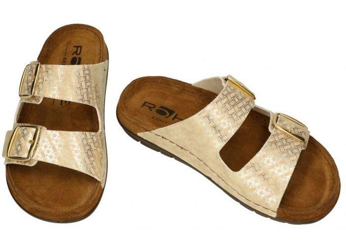 Rohde 5862-29 RODIGO-D slippers & muiltjes goud