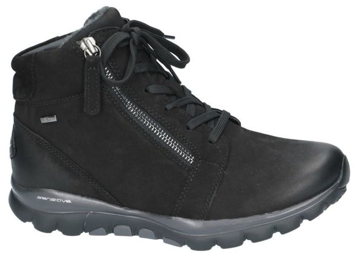 Rollingsoft 9062 bottines zwart