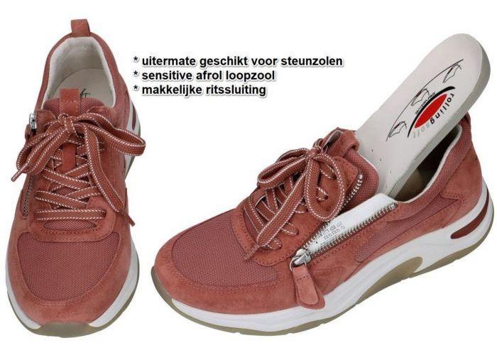 Rollingsoft 46.918.28 sneakers  roze donker