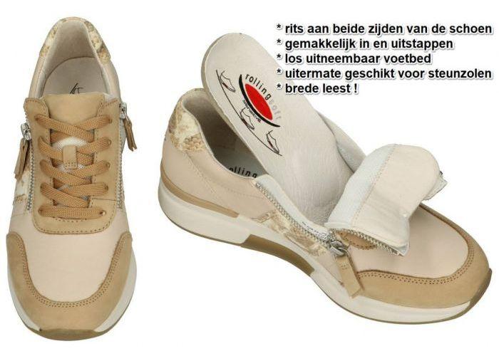 Rollingsoft 66.928.53 sneakers  nude / oud-roze
