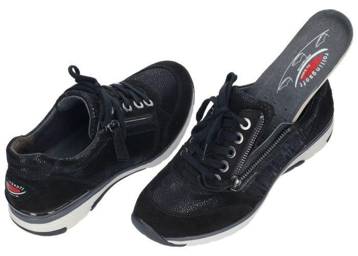 Rollingsoft 96.973.67 sneakers  zwart