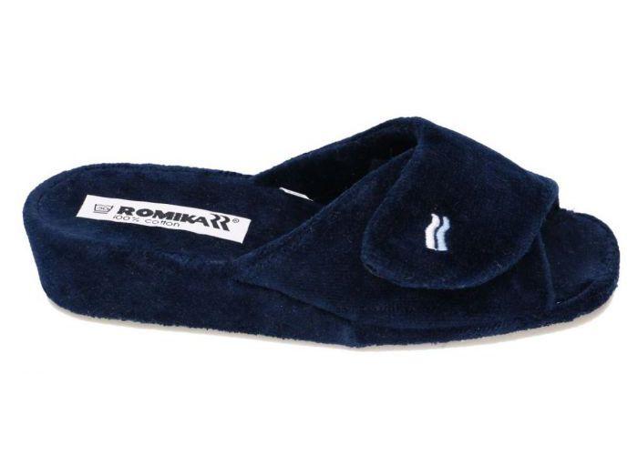 Romika 63025 COMINO pantoffels blauw donker
