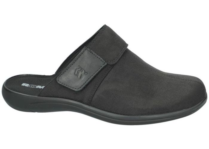 Herenschoenen Romika PANTOFFEL/SLIPPERS 10322 ROYAL 22 Zwart