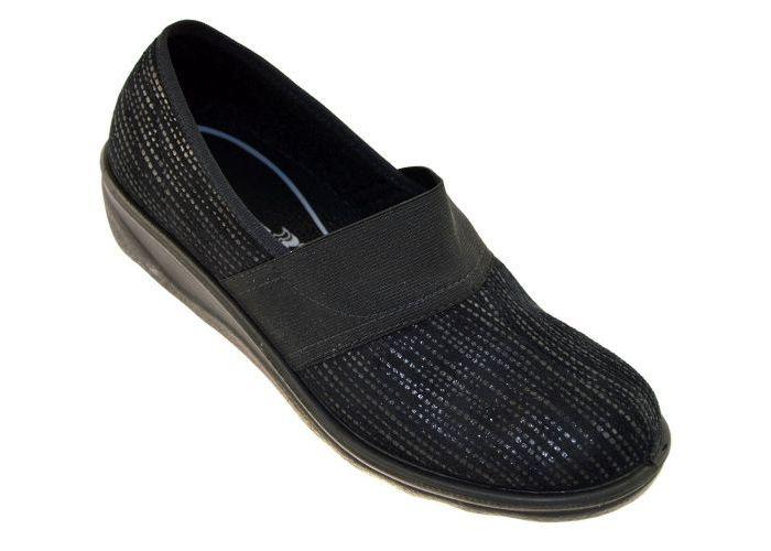 Romika 67366 Romisana 366 pantoffels zwart