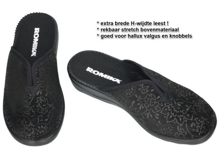 Romika 70091 ROMISANA 91 pantoffels zwart