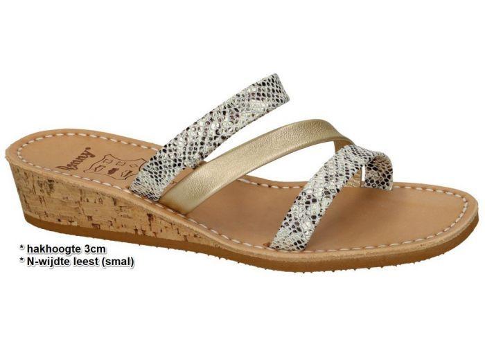Ronny 973 - N slippers & muiltjes goud