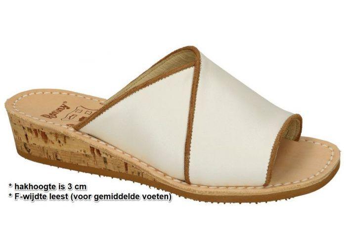 Ronny 9063 3cm F slippers & muiltjes off-white/ecru/parel