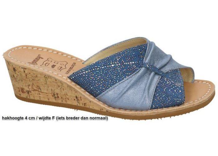 Damesschoenen Ronny SLIPPERS & MUILTJES 2014 F  Turquoise