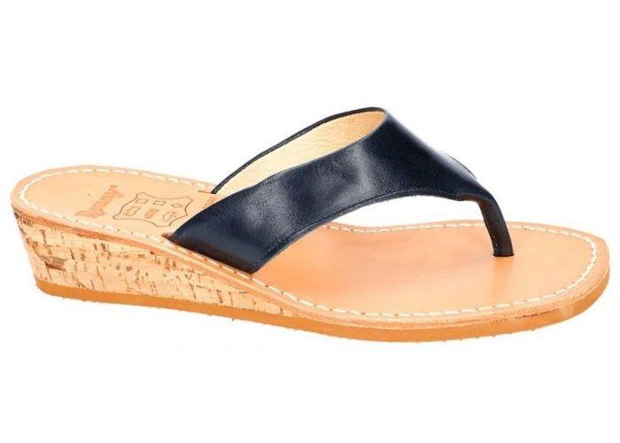 Ronny 823 - 3N slippers & muiltjes blauw donker