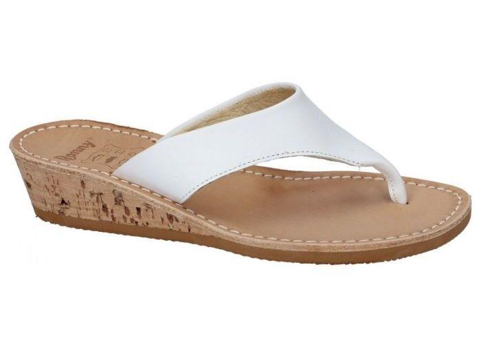 Ronny 823 - 3N slippers & muiltjes wit