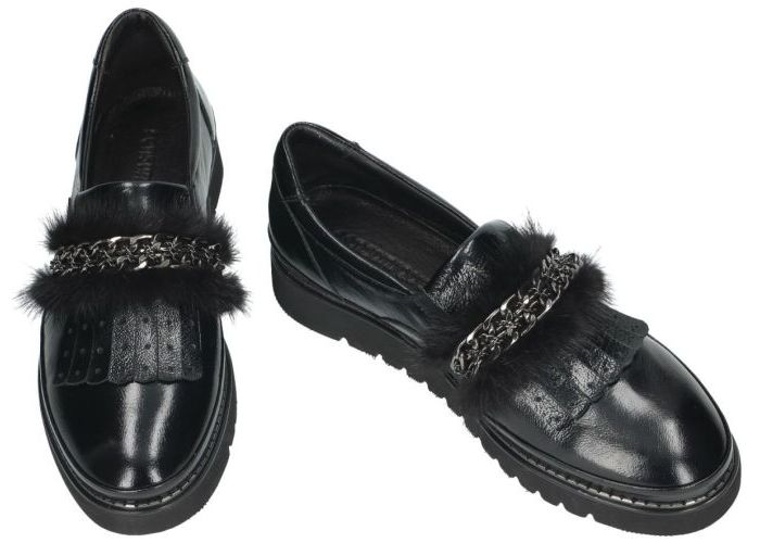 Sensunique SUG.1801.A20882-V1 ballerina's & mocassins zwart