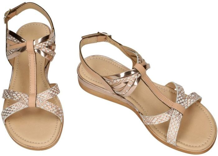 Sensunique F10-193-V1 sandalen beige