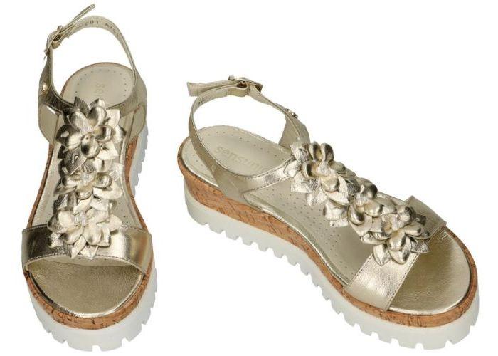 Sensunique A14901-V2 sandalen goud