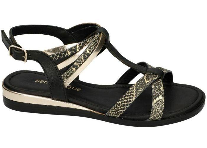 Sensunique F10-193-V2 sandalen zilver