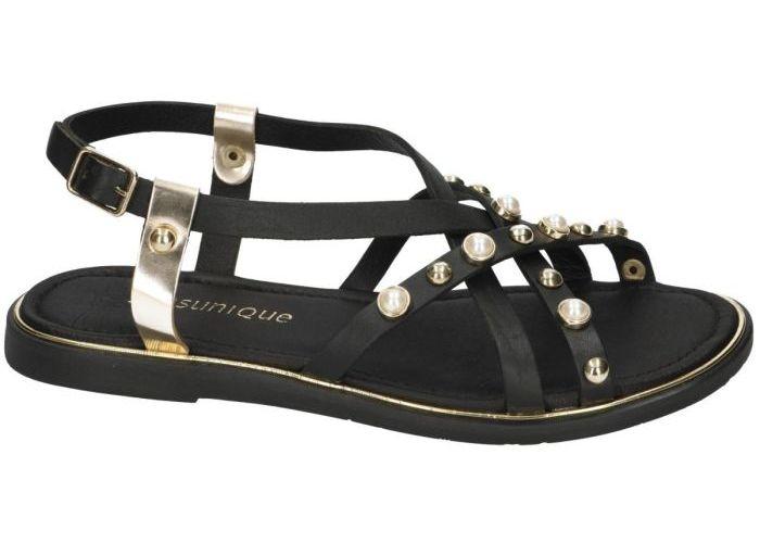 Sensunique F10-1991-V2 sandalen zwart