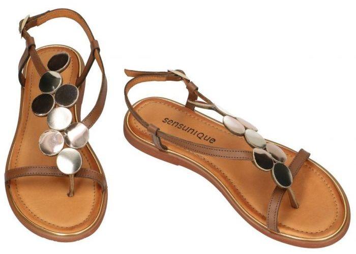 Sensunique F-FT-185-V3 ARLON sandalen bruin