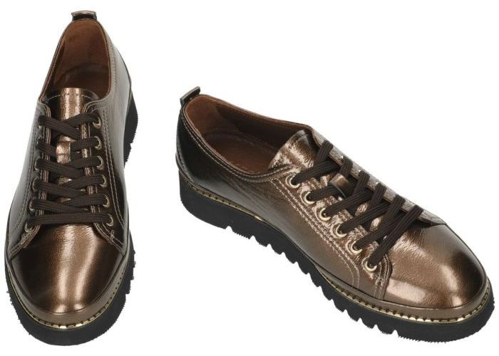 Sensunique SUG.1801.A19913-V21 lage gesloten schoenen brons