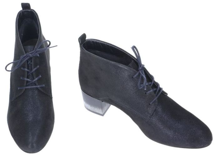 Softwaves 8887 bottines blauw donker