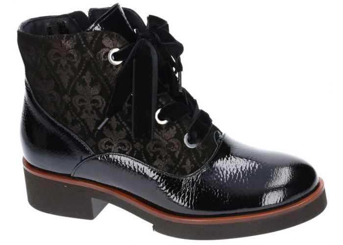 Damesschoenen Softwaves BOTTINES 7.28.07 Zwart
