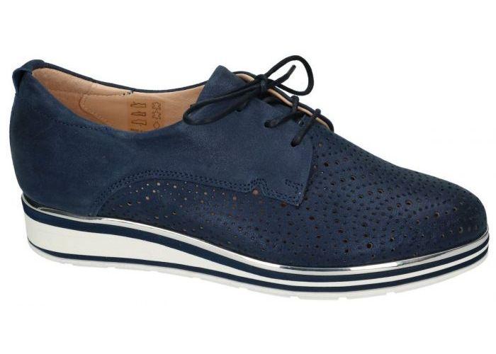 Softwaves 7.63.20 lage gesloten schoenen blauw donker