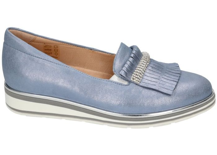 Damesschoenen Softwaves MOCASSINS - LOAFERS 7.63.03/03 Blauw
