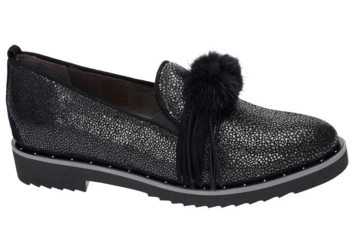 Damesschoenen Softwaves MOCASSINS - LOAFERS 7.49.09 Zwart