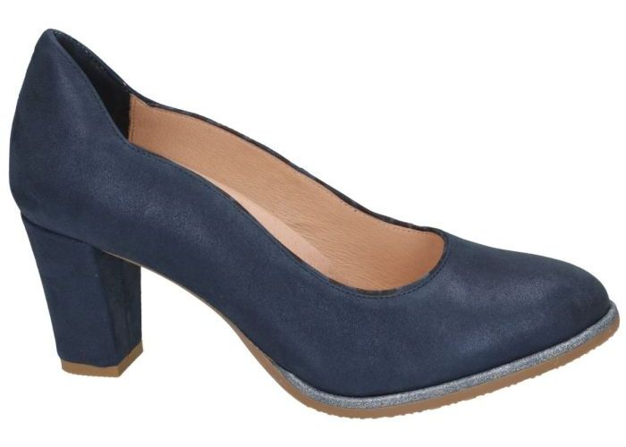Softwaves 9256 pumps blauw donker